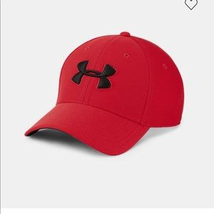 Under Armour Red Baseball Cap M/L